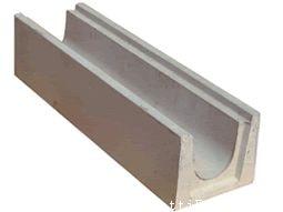 canalette in cemento con griglia zincata